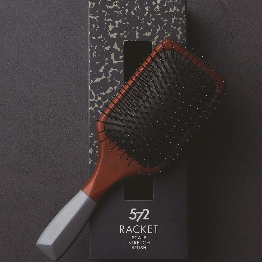 572 RACKET SCALP STRETCH BRUSH